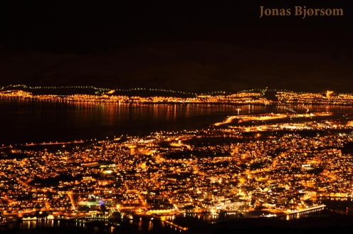 Tromsø by night