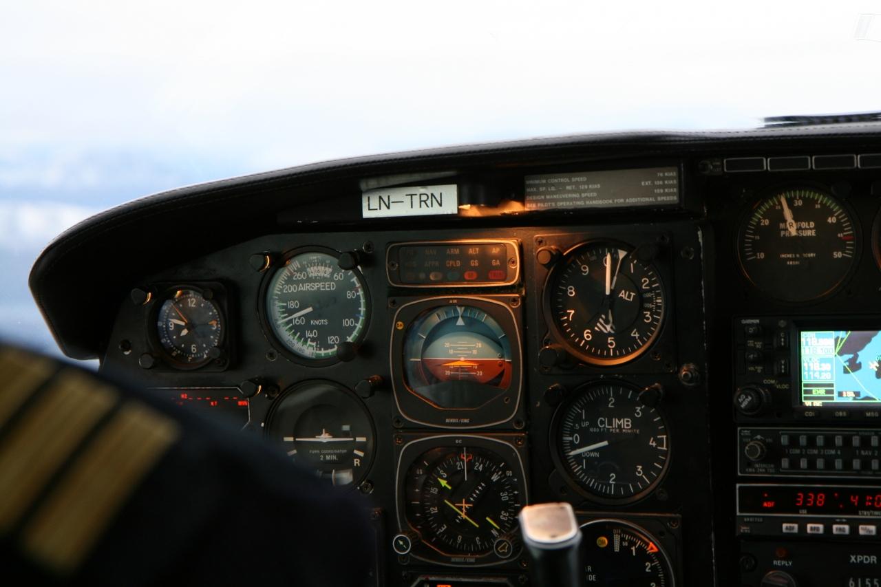 Cockpit i PA31 Navajo