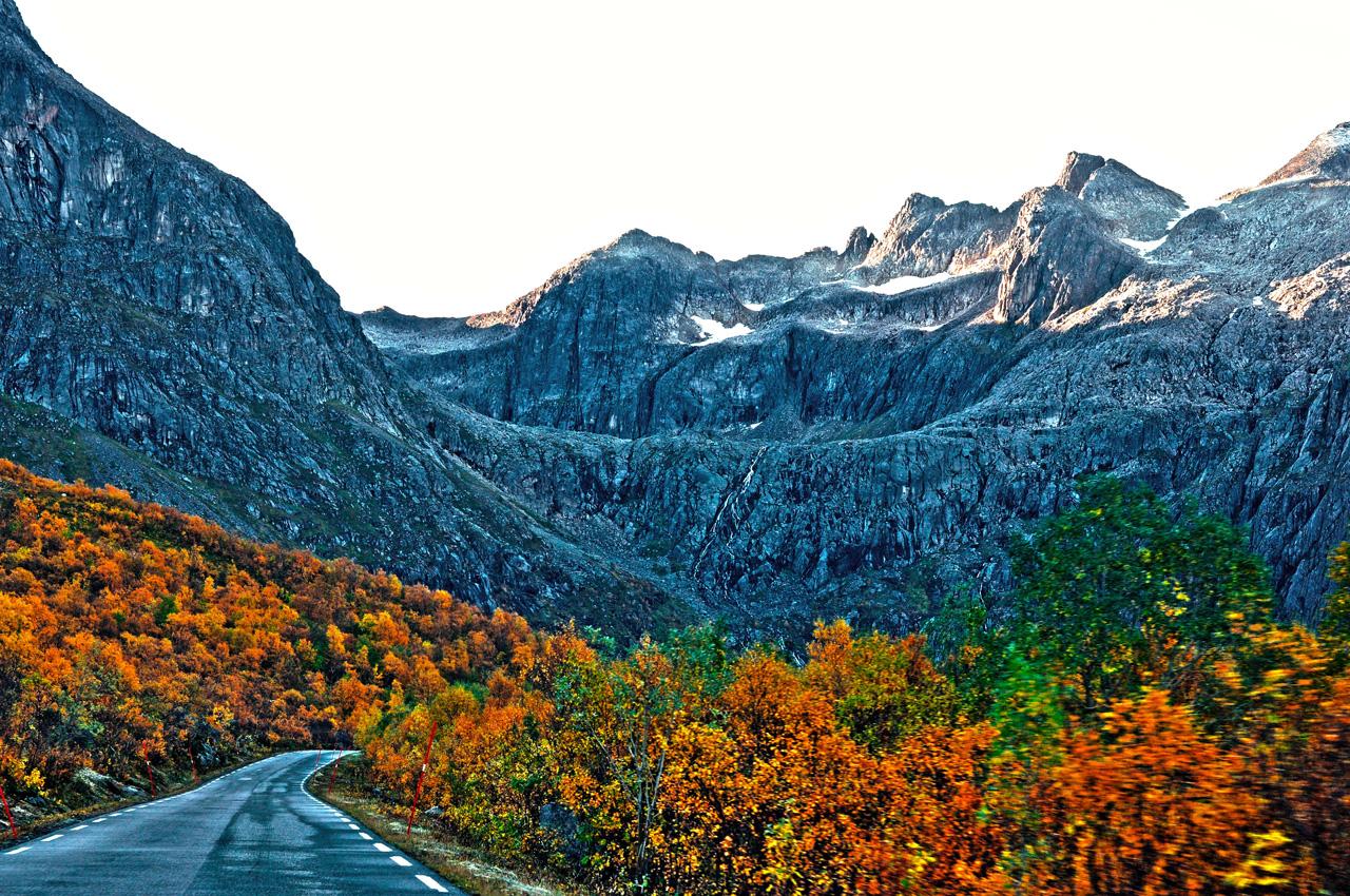 Kvaløya i høstfarger